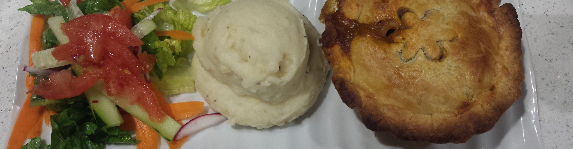 Savory Pie meal